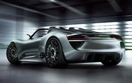 Porsche Spyder Wallpaper