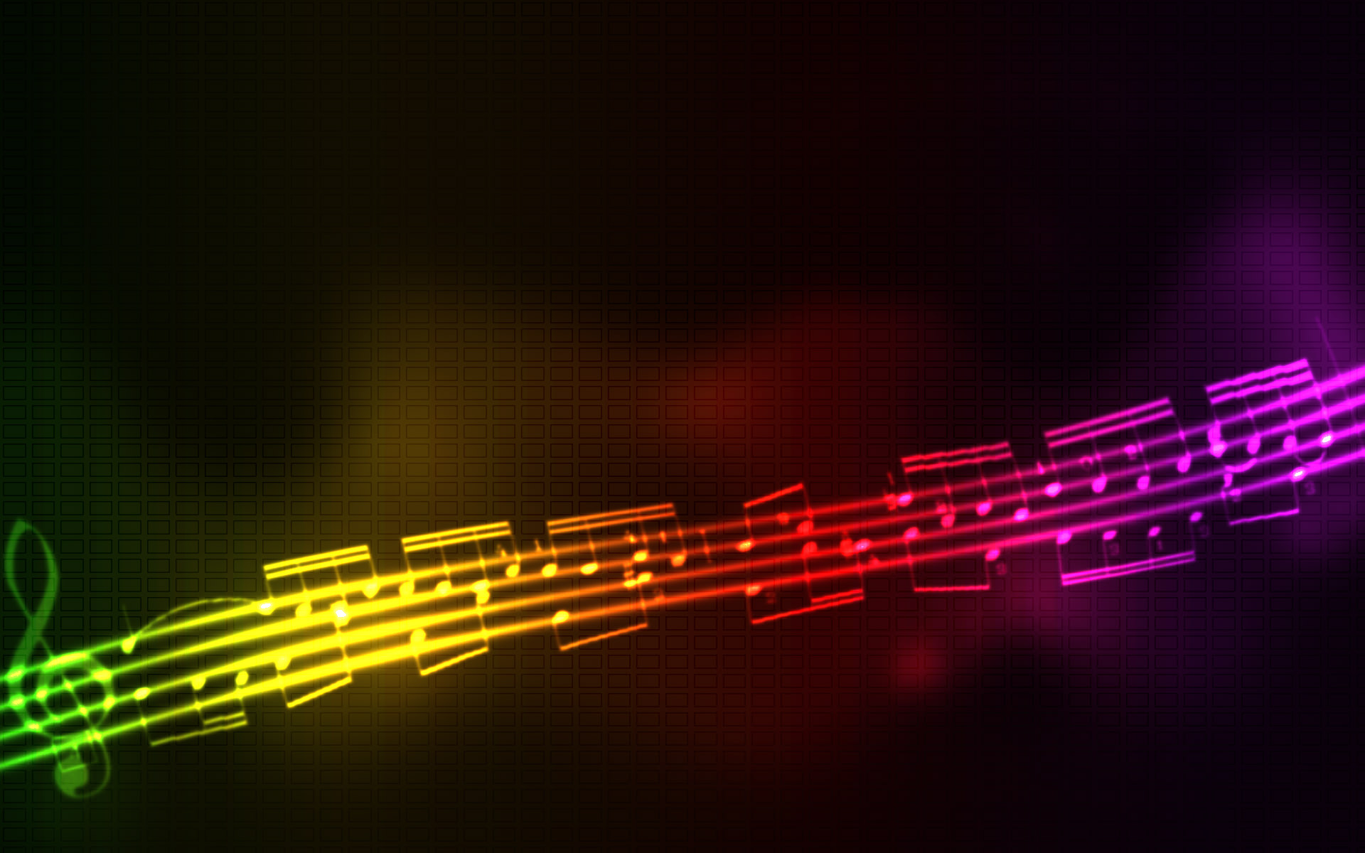 Music Wallpaper - Abstract Desktop Wallpaper