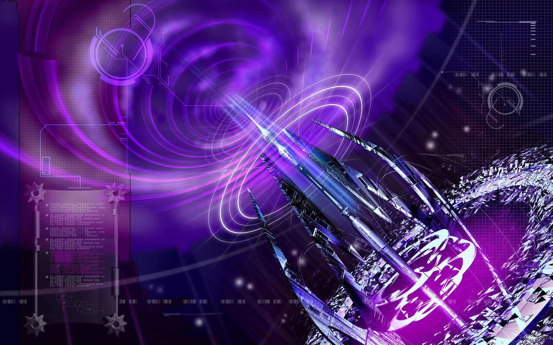 Purple abstract wallpaper 1920x1200 for Purple wallpaper 3d