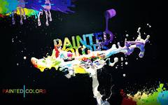 Painted Colors Wallpaper