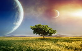 Fantasy Planet Tree