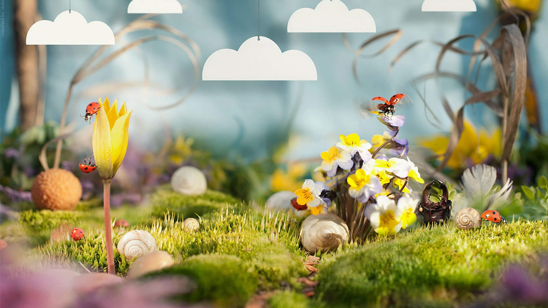 Fantasy Spring Wallpaper 1920x1080