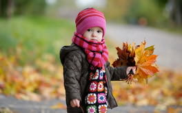 Autumn Baby Wallpaper