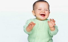Laughing Baby Background