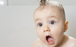 Surprised Baby Wallpaper