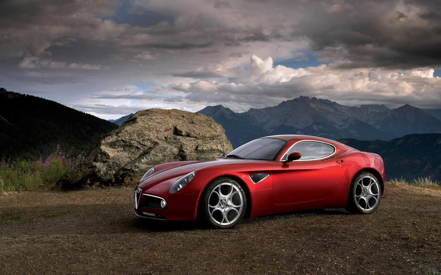 Wallpaper Alfa Romeo