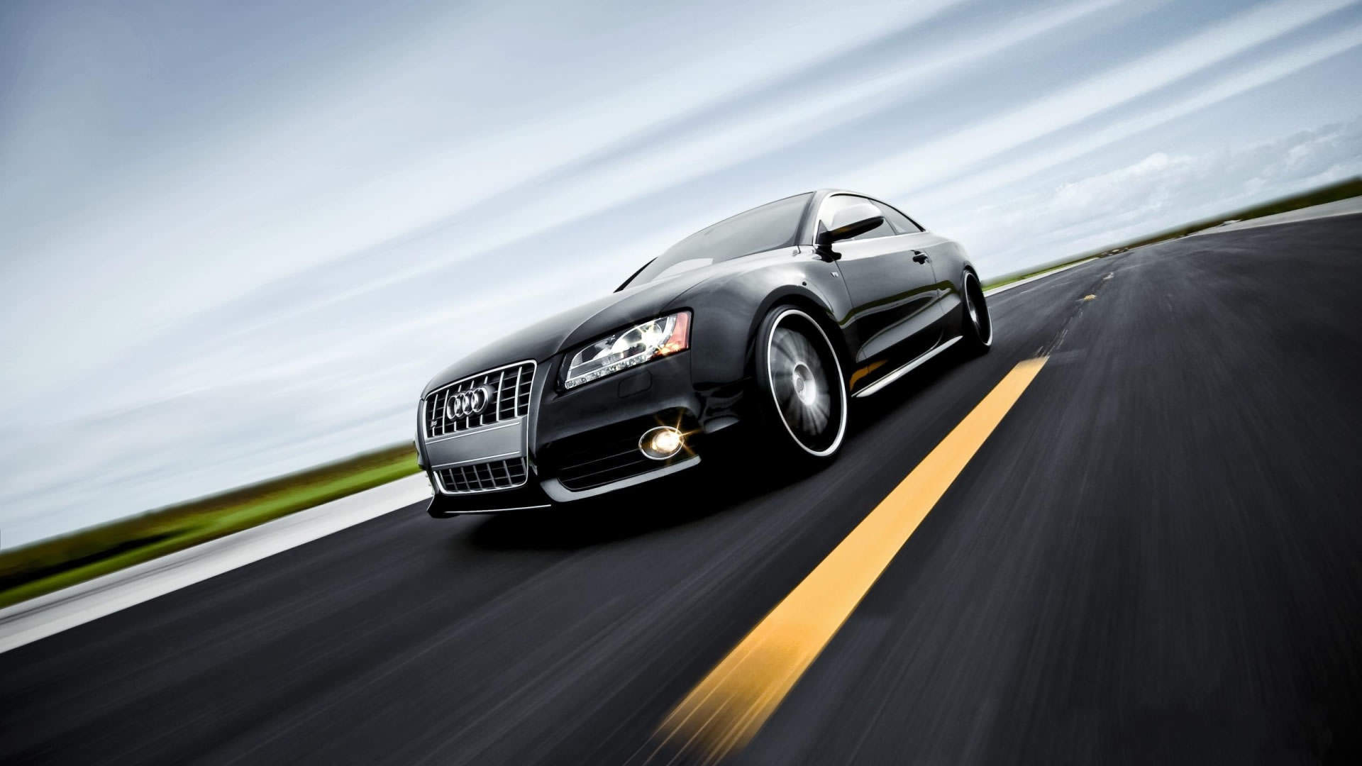 Wallpapers audi wallpaper cartoon 4minute coupe car 342298