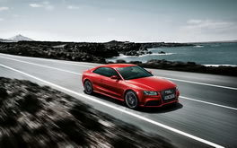 Red Audi A4 Wallpaper