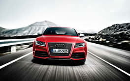 Red Audi A5 Background