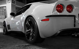 White Ferrari Wallpaper