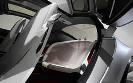 Ford Reflex Concept Rear Seating