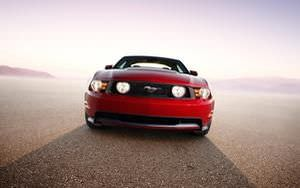 Red Mustang Wallpaper