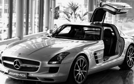 Mercedes Amg Black White