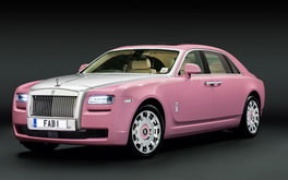 Pink Rolls Royce Wallpaper