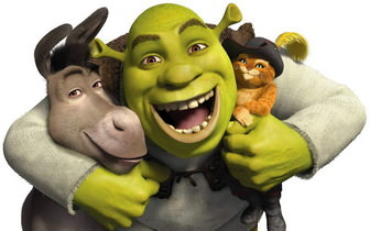 Shrek Cartoon Background