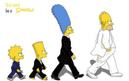 Simpsons Cartoon Wallpaper