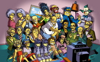 Simpsons Family Wallpaper