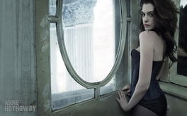Anne Hathaway By The Windows