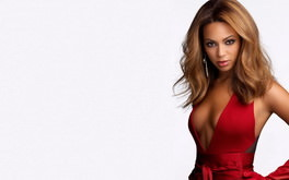 Beyonce In Very Hot Red Dress