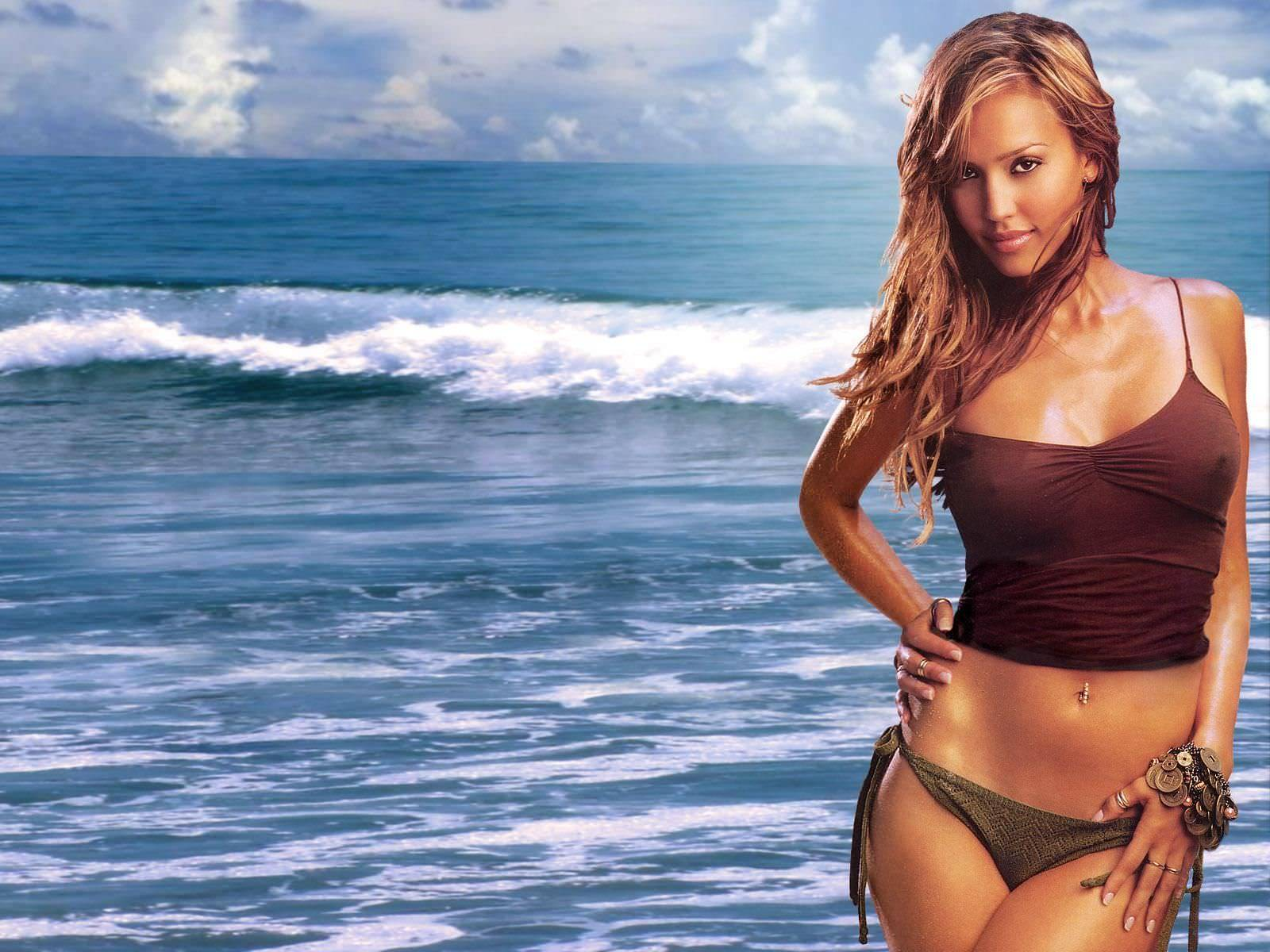 jessica alba background