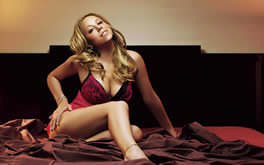 Mariah Carey In Bed Wallpaper
