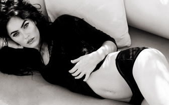 Megan Fox Black And White