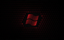Red Windows Logo Wallpaper