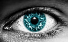 Turquoise Eye Wallpaper
