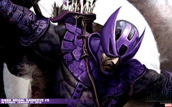 Dark Reign Hawkeye Wallpaper