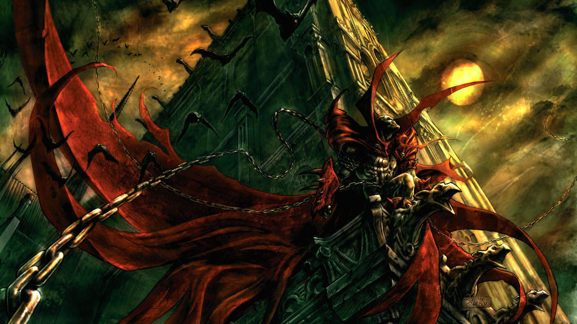 spawn wallpapers 1920x1080 - photo #1