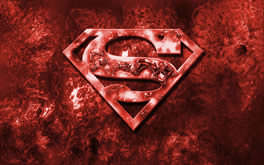 Superman Red Wallpaper