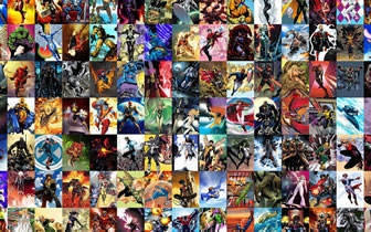 X-Men Collage