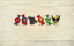 Funny Super Heroes