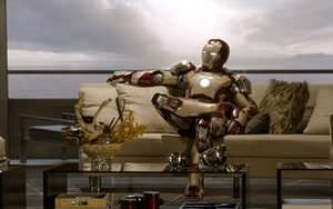Iron Man Chilling