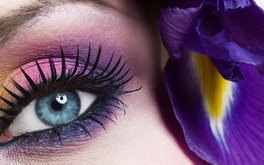 Beautiful Eye Close Up