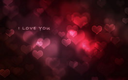 3D Love Background