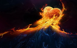 Abstract Fire Love