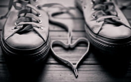 Love Sneakers Hd Wallpaper