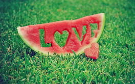 Watermelon Love Grass