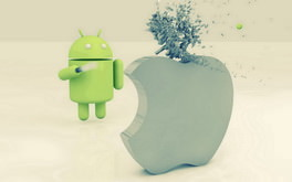 Android Vs Apple Wallpaper