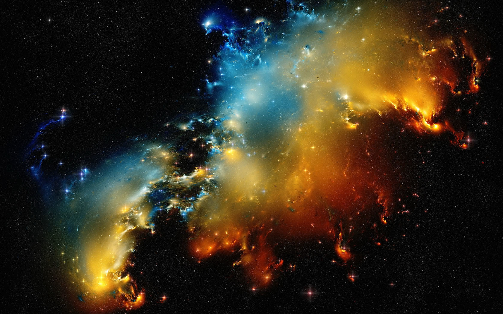 Breathtaking Nasa Hubble Space Hd Wallpapers: Amazing Nebula Wallpaper 1680x1050