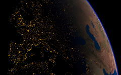 <h1>Earth From Space Photo</h1>