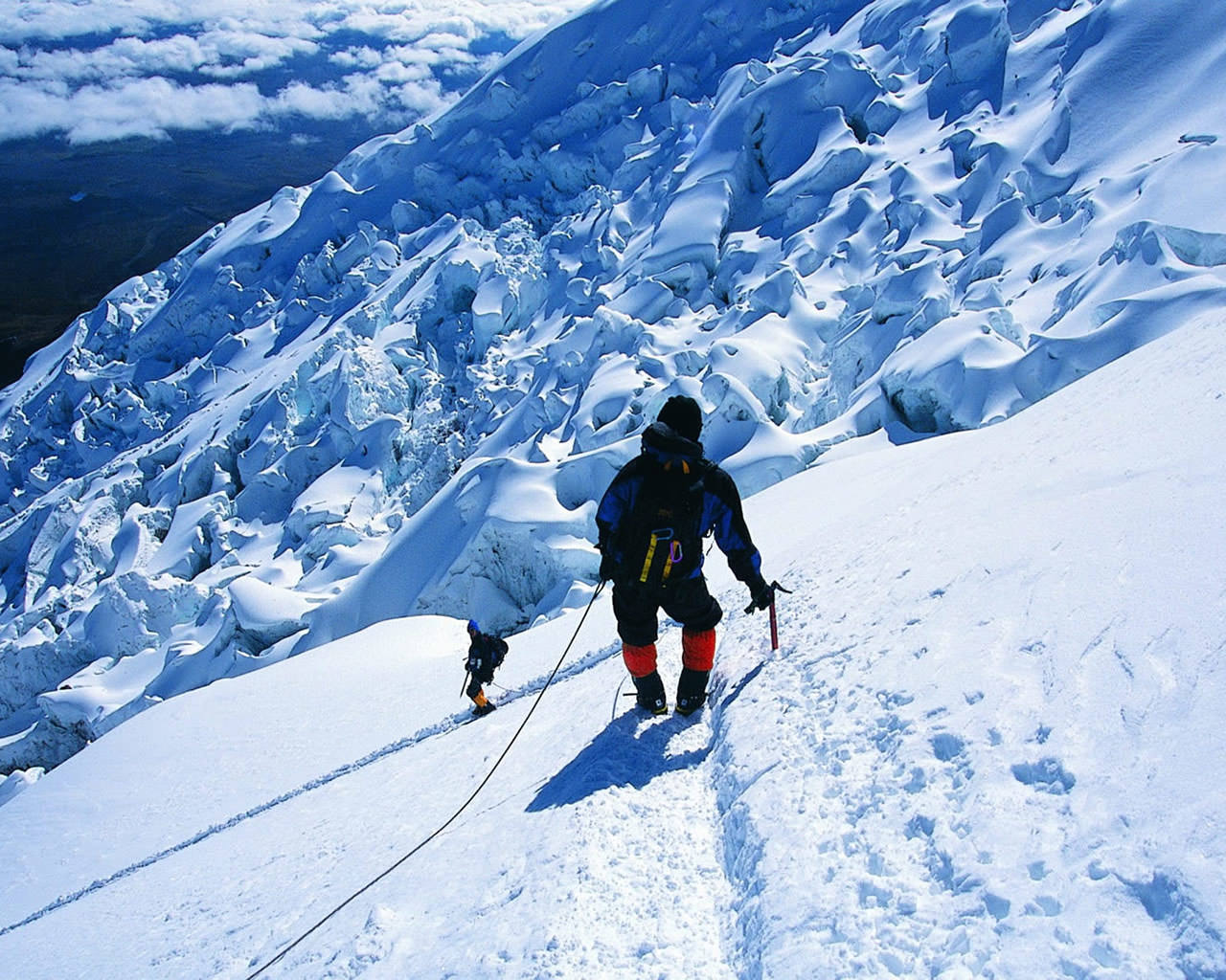 ice climbing wallpaper - photo #15