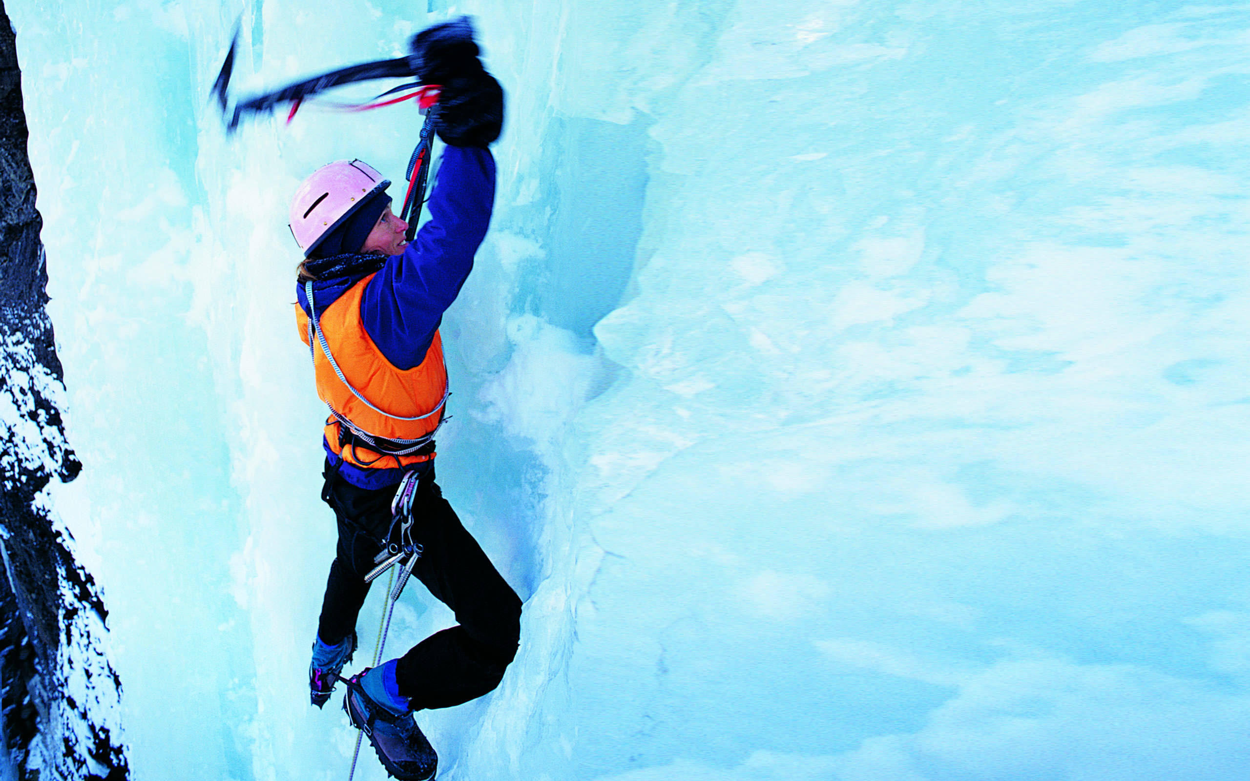 ice climbing wallpaper - photo #5