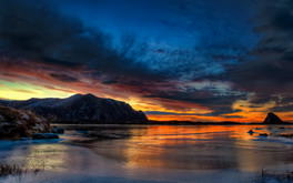 Arctic Circle Sunset