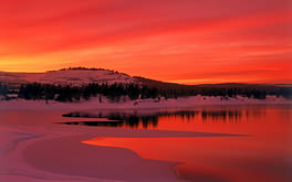 Sunset Truckee California